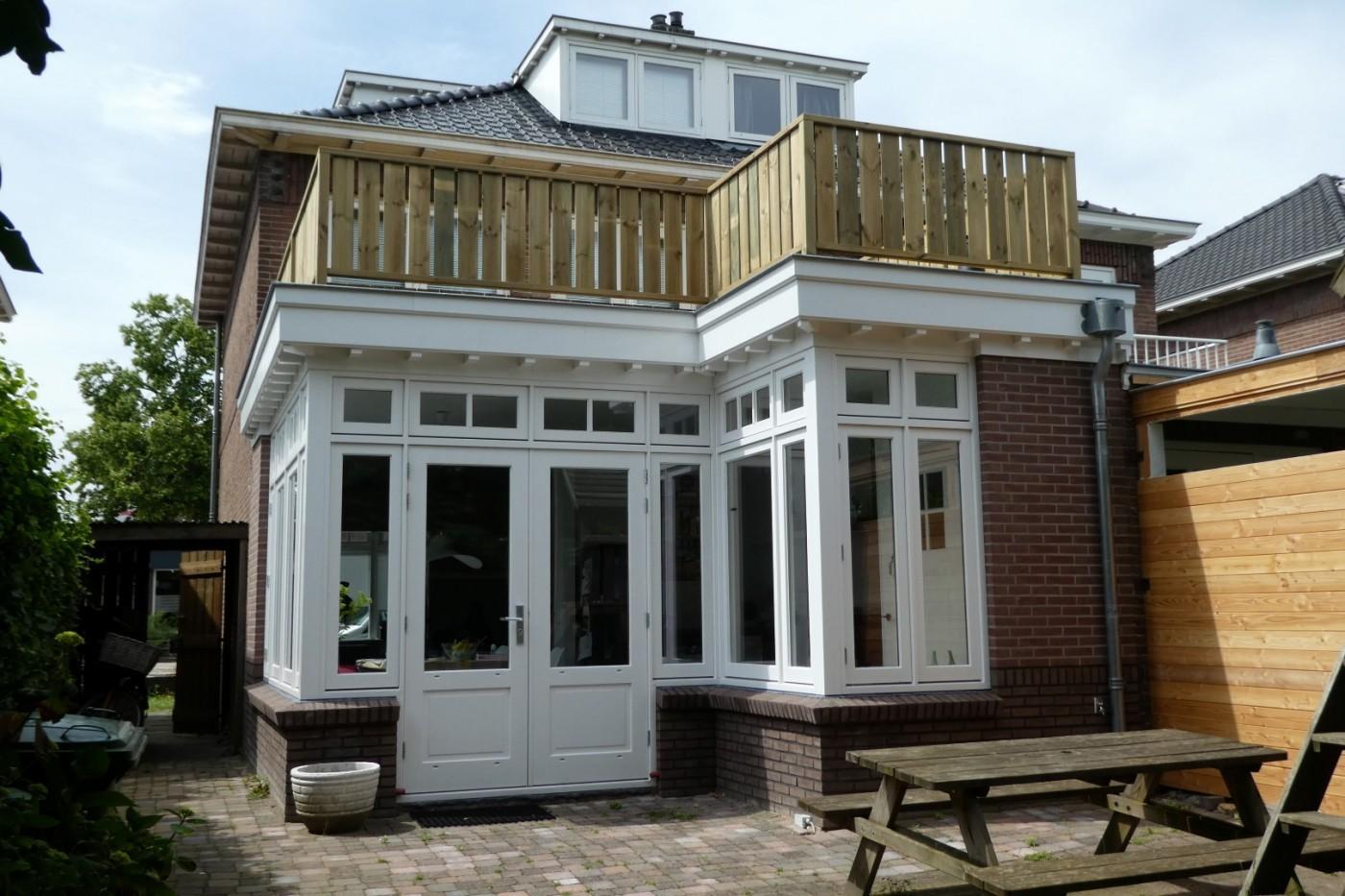 Uitbreiding 2 onder 1 kap woning nijmegen projecten for Huis nijmegen
