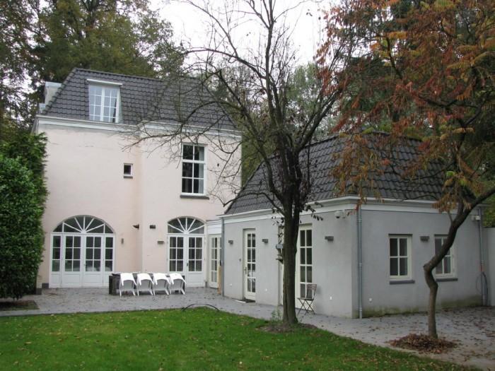 Thuiskantoor Uitbouw Tuin : Aan en opbouw villa oosterbeek projecten bouwbedrijf prefit